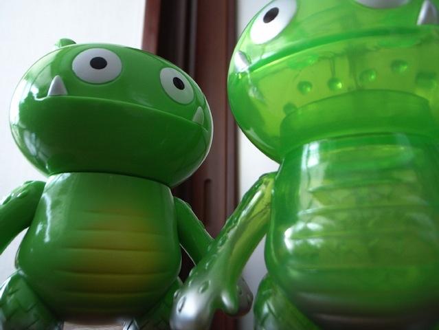 Uglydoll Wage Green Kaiju