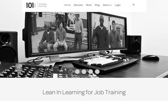 Website marketing makeover for eLearning website 101i