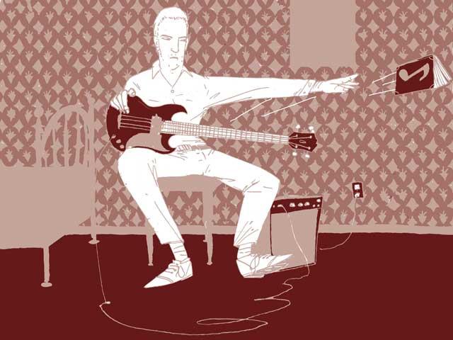 peter hook learning bass guitar