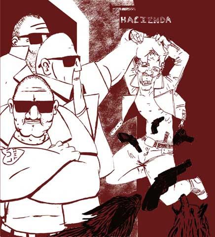 peter hook hacienda illustration