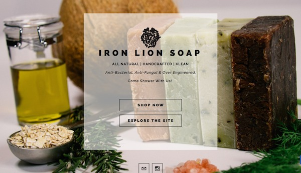 Iron Lion Website Marketing Makeover