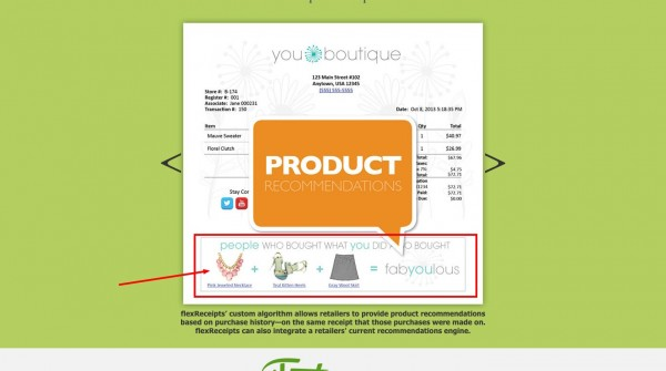 Flexreceipts.com internet marketing makeover