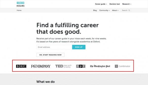 Website marketing teardown.