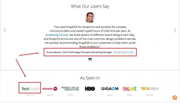 Snapeda website marketing makeover.